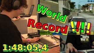 Grand Theft Auto - Vice City - Speedrun - Guinness World Record in 1:48:05,4 [HD]