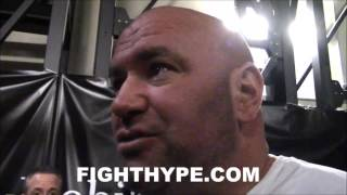 """DANA WHITE IMMEDIATE REACTION TO CANELO'S BEATDOWN OF CHAVEZ JR.: """"A STRAIGHT ASS WHOOPIN"""""""