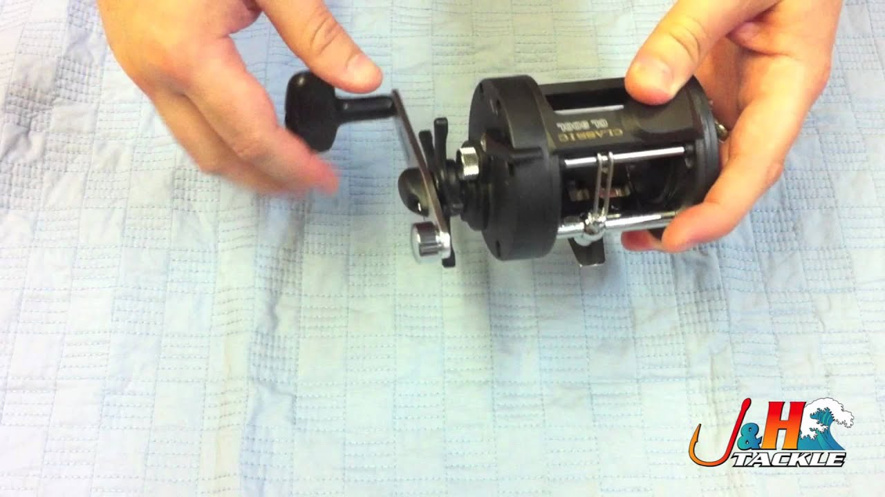How to spool a conventional reel - Okuma Classic Conventional Reels J H Tackle