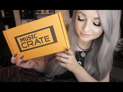 Music Crate Subscription Box Unboxing & Review - July 2016