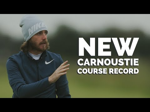 Tommy Fleetwood Sets New Carnoustie Course Record - 63!