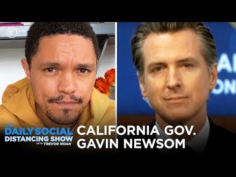 Gavin Newsom - Handling Coronavirus in California | The Daily Social Distancing Show