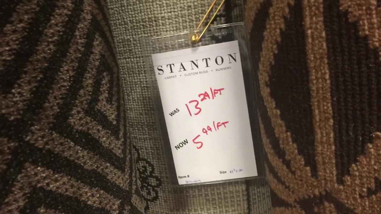 Tour Of Stock Karastan Stanton And Kaleen Wool Carpet Remnants In Our Metro Dc Silver Spring Store