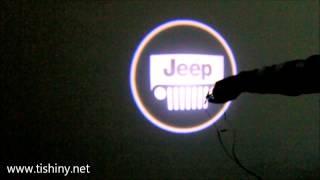 Подсветка логотипа в двери для Jeep