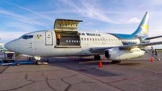 FLYING A CLASSIC BOEING 737-200 COMBI IN 2018 | Canadian North Yellowknife to Edmonton
