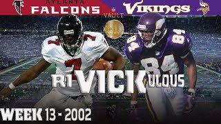 A riVICKulous Ending (Falcons vs. Vikings, 2002)   NFL Vault Highlights