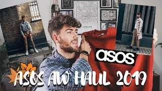 HUGE ASOS HAUL MENS AUTUMN WINTER 2019 HAUL AND TRY ON!