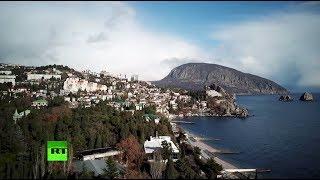Зимний Крым: Гурзуф