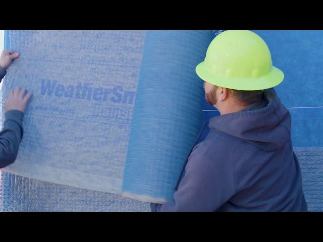 Install Detail - WeatherSmart® Rainscreen over Blueskin® VP100