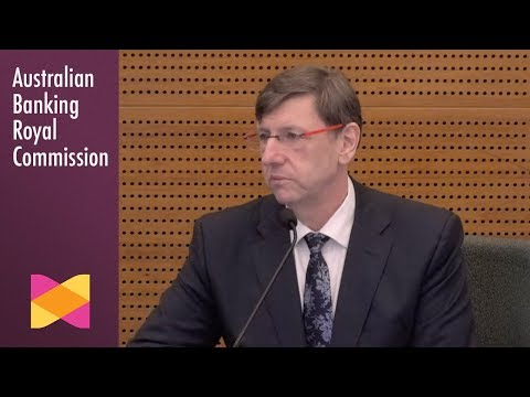 Clearview's head of insurance testifies at the Banking Royal Commission (6.2)
