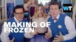 Making of Frozen - Kristen Bell, Josh Gad & Jonathan Groff | What's Trending Now