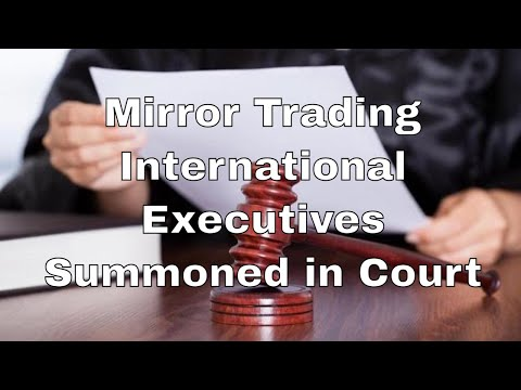 (UPDATE) Mirror Trading International Executives Summoned in Court Over BTC Global Scam Allegations