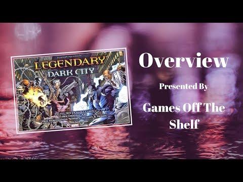 Legendary: A Marvel Deck Building Game – Dark City | Board
