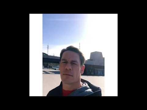 John Cena Last Day Free In Beijing...