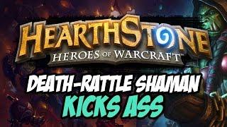 Deathrattle Shaman Kicks Ass [TWITCH LIVE STREAM HIGHLIGHT!]