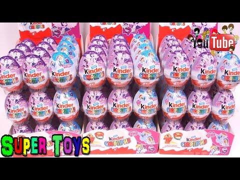 108 Киндер Сюрприз Май Литл ПониИгрушки Пони для девочек108 Kinder Surprise My Little Pony