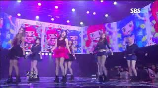 티아라 Sexy Love @SBS Inkigayo 인기가요 20120923