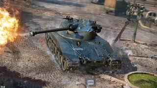 World of tanks blitz AMX ELC bis game play.