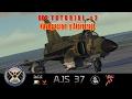 DCS Tutorial Guia AJS37 Viggen - Navegacion basica y procedimiento de aterrizaje