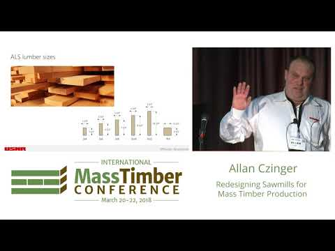 Redesigning Sawmills for Mass Timber Production