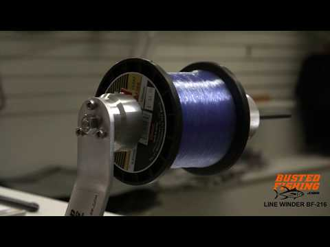 How To Setup A Professional Reel Spooling Station Using A Line Winder