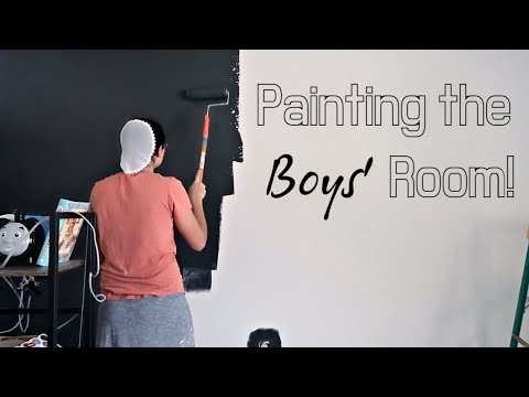 Painting The Boys' Bedroom | Ditl Of A Mennonite Mom