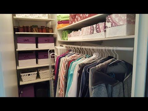 гардеробная комната для хранения