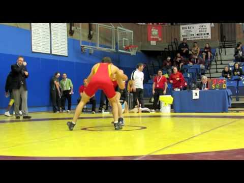 CIS Championships 2012: 76 kg Jake Jagas vs. Eric Lewis