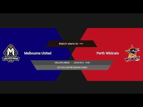 Melbourne United Vs Perth Wildcats - NBL Pre-season