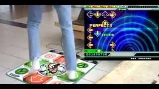 Konami Xbox 360 Dancepad Running on DDR EXTREME Simulation for Stepmania