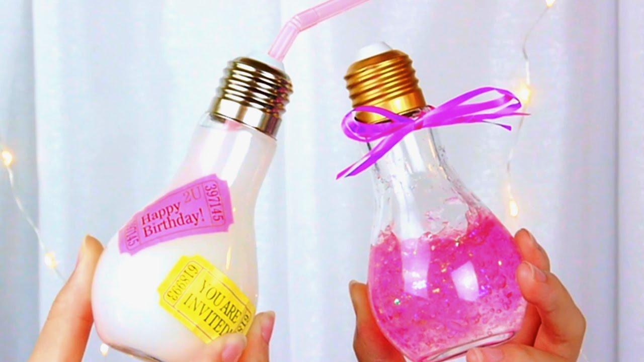 韓国で話題!100均で買える「電球ボトル」で簡単DIY💡💓