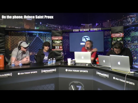 Ovince Saint Preux, Abel Trujillo, Ryan Benoit and Ricky Lundell are on today's show.
