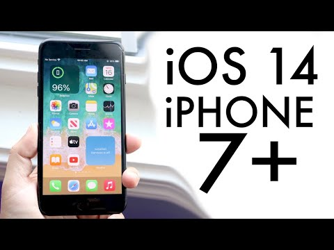 iOS 14 OFFICIAL On iPhone 7 Plus! (Review)