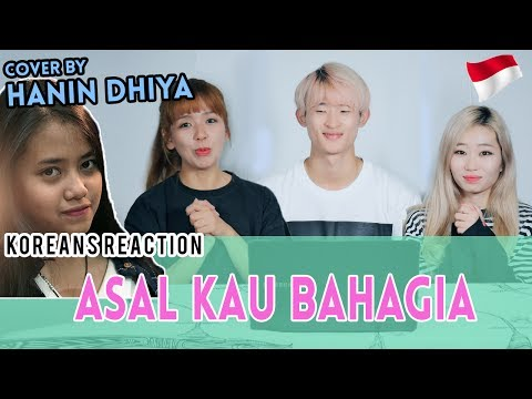 [Korean Reaction] Asal Kau Bahagia - Armada (Cover) by Hanin Dhiya
