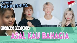 Korean Reaction  Asal Kau Bahagia - Armada  Cover  By Hanin Dhiya