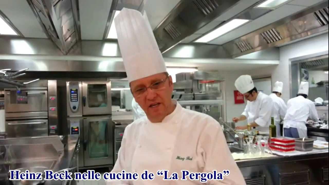la notte di natale con lo chef heinz beck nelle cucine de