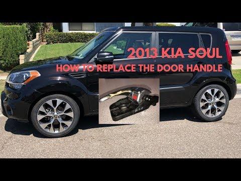 2013 KIA SOUL – HOW TO REPLACE INTERIOR DOOR HANDLE