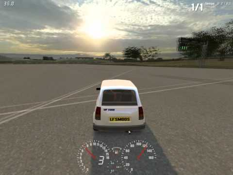 LFS Tweak S2 Cars - Real Time