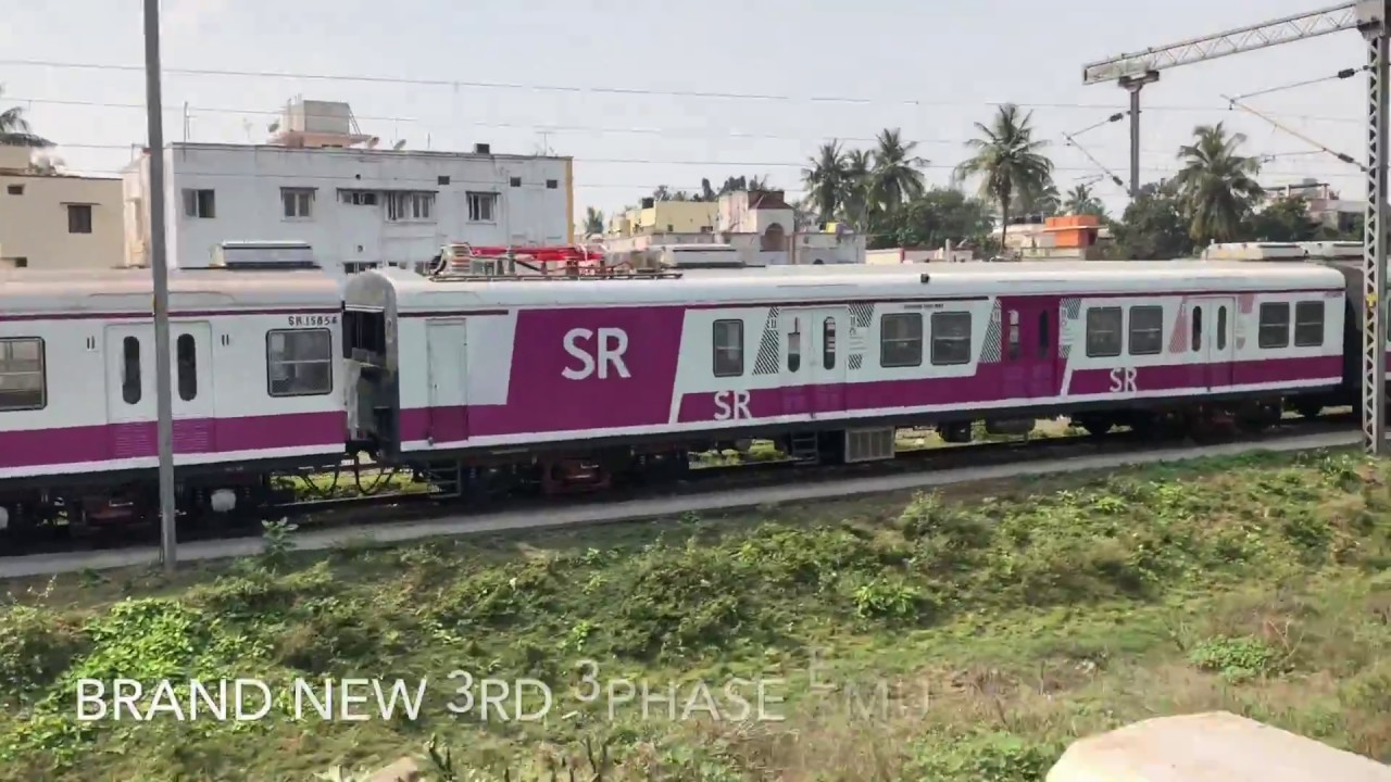 Brand New EMU & LHB Coaches For Southern Railway: INDIAN RAILWAYS