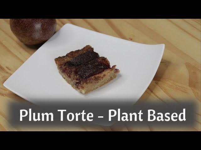 New York Times Plum Torte - Vegan - Dairy Free and Eggless