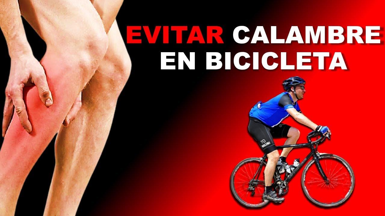 prevenir los calambres en ciclismo