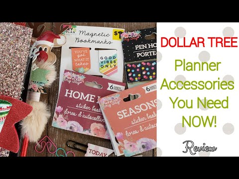 Dollar Tree Planner Accessories You Need Now!