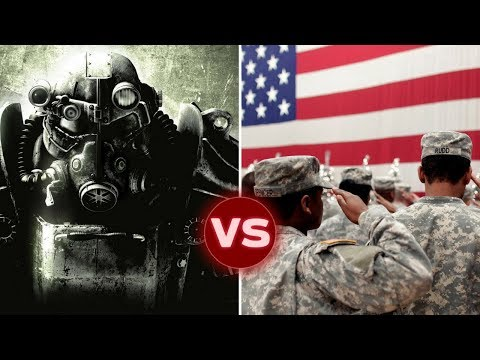 The United States from Fallout (Pre-War) vs the Modern US Military | Galactic Versus