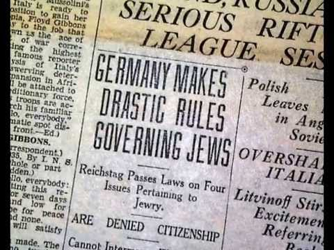 Holocaust Nuremberg Laws - YouTube