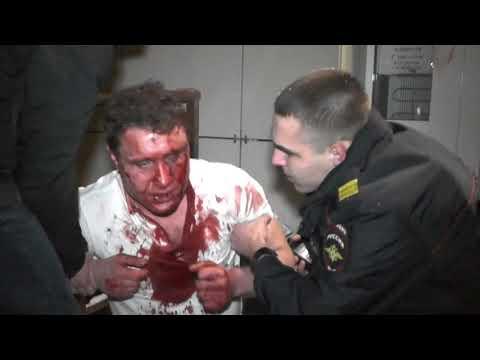 Порезанный мужчина пришел за помощью в магазин на ул. Труда. Место происшествия 11.12.2017