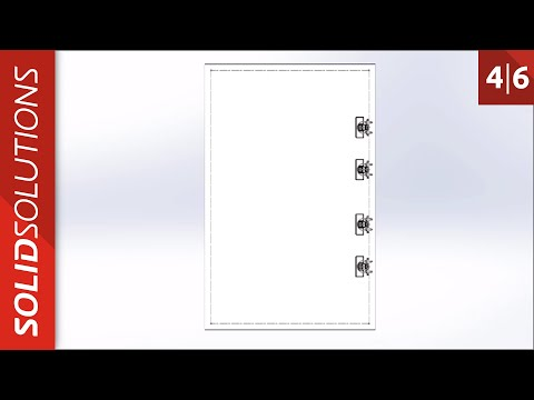 SOLIDWORKS SWOOD Door Design Tutorial - Advanced hinge setup thumbnail