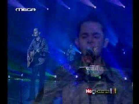 Pig in a Poke singer Christos Liouris at Na i Efkairia
