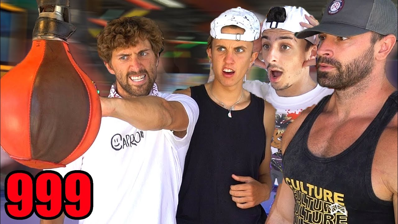 Which Famous YouTuber Punches The Hardest? *Challenge*