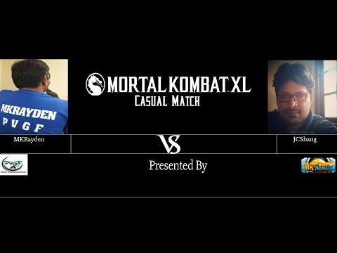 PVGF Pakistan MKXL Matches MKRayden VS JCShang Part 1 2017