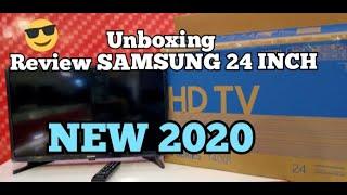 Unboxing Review Samsung led tv 24 inch terbaru UA24T4001 terbaru 2020